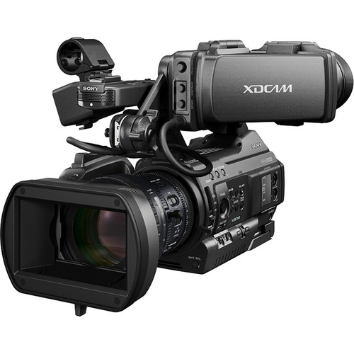 For run and gun video production the Sony PMW-300 gets the job done